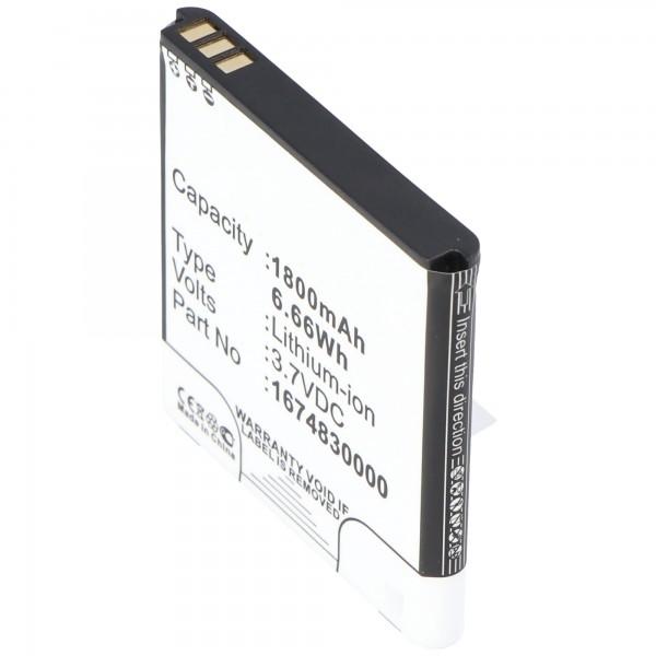 Akku passend für Wireless Router TP-Link Akku TL-MR11U