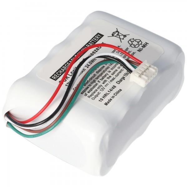 Logitech Squeezebox, 533-000050, HRMR15/51, NT210AAHCB10YMXZ Nachbau Akku