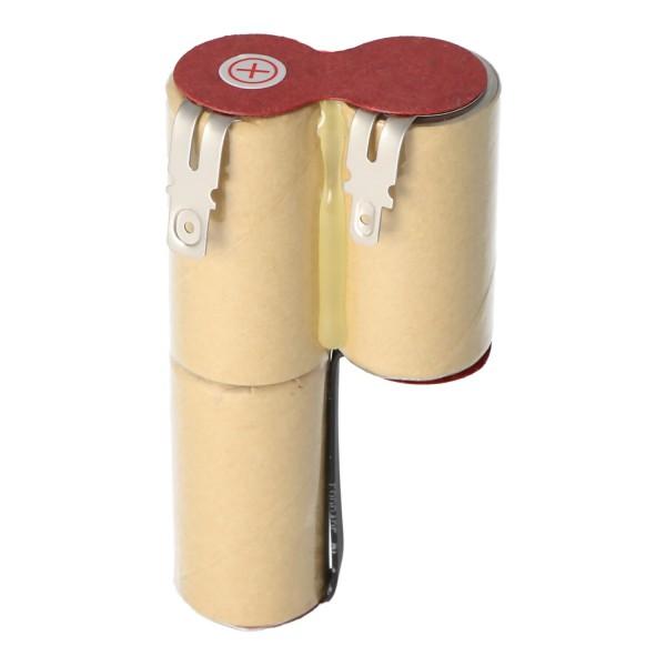 Akku passend für Gardena ACCU3 Akku Rasenkantenschere Accu 3 mit 2500mAh, mit 4,8mm und 6,3mm