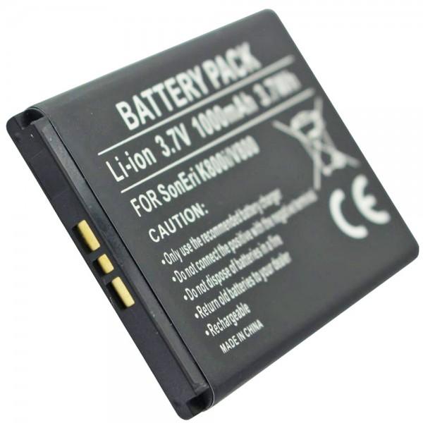 AccuCell Akku passend für Sony Ericsson P1i Li-Ion-Akku