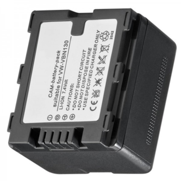 Akku passend für VW-VBN130, VBN-260, HDC-TM900, -HS900, -SD900