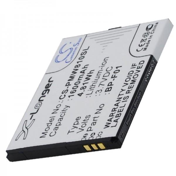 AccuCell Akku passend für den Akku Phicomm FWS610, FWS610 Akku BP-F01