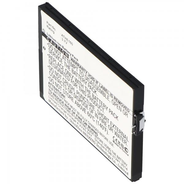 AccuCell Li-Ion Akku passend für T-Mobile Ameo Akku ATHE160 mit 2000-2200mAh