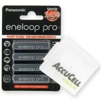Panasonic eneloop Pro BK-3HCCE/4BE Mignon AA 1,2V NiMH Akku und ACBOXAA