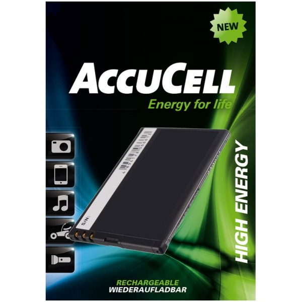 AccuCell Akku passend für Nokia 808 PureView, N9